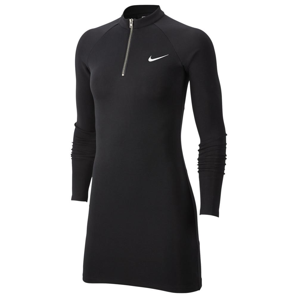 ナイキ Nike レディース ワンピース ワンピース・ドレス【Essential Dress】Black/White