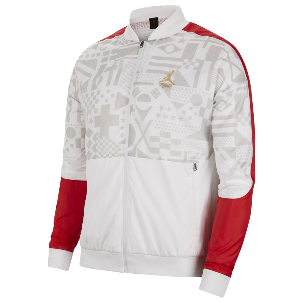 ナイキ ジョーダン Jordan メンズ ジャケット アウター【Legacy Jacket】University Red/White/Metallic Gold