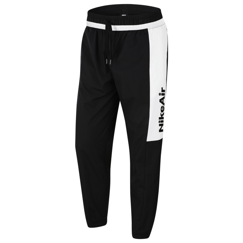 ナイキ Nike メンズ ジョガーパンツ ボトムス・パンツ【Air Woven Pants】Black/White/Black/University Red
