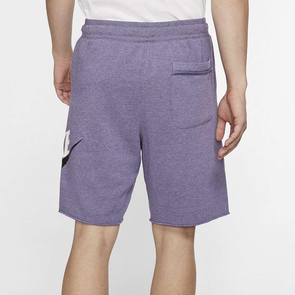 ナイキ Nike メンズ ショートパンツ ボトムス・パンツ【Alumni Shorts】Purple/White