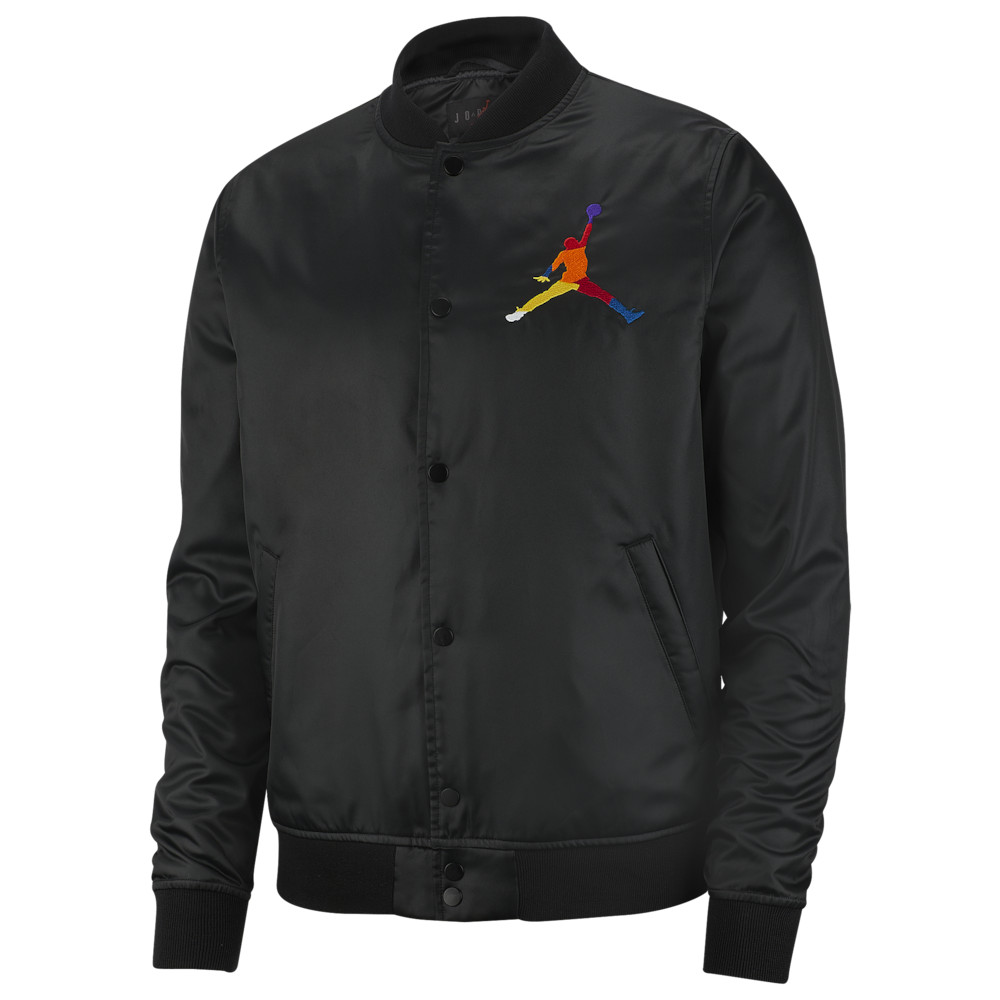 ナイキ ジョーダン Jordan メンズ ジャケット アウター【Sport DNA HBR Satin Jacket】Black