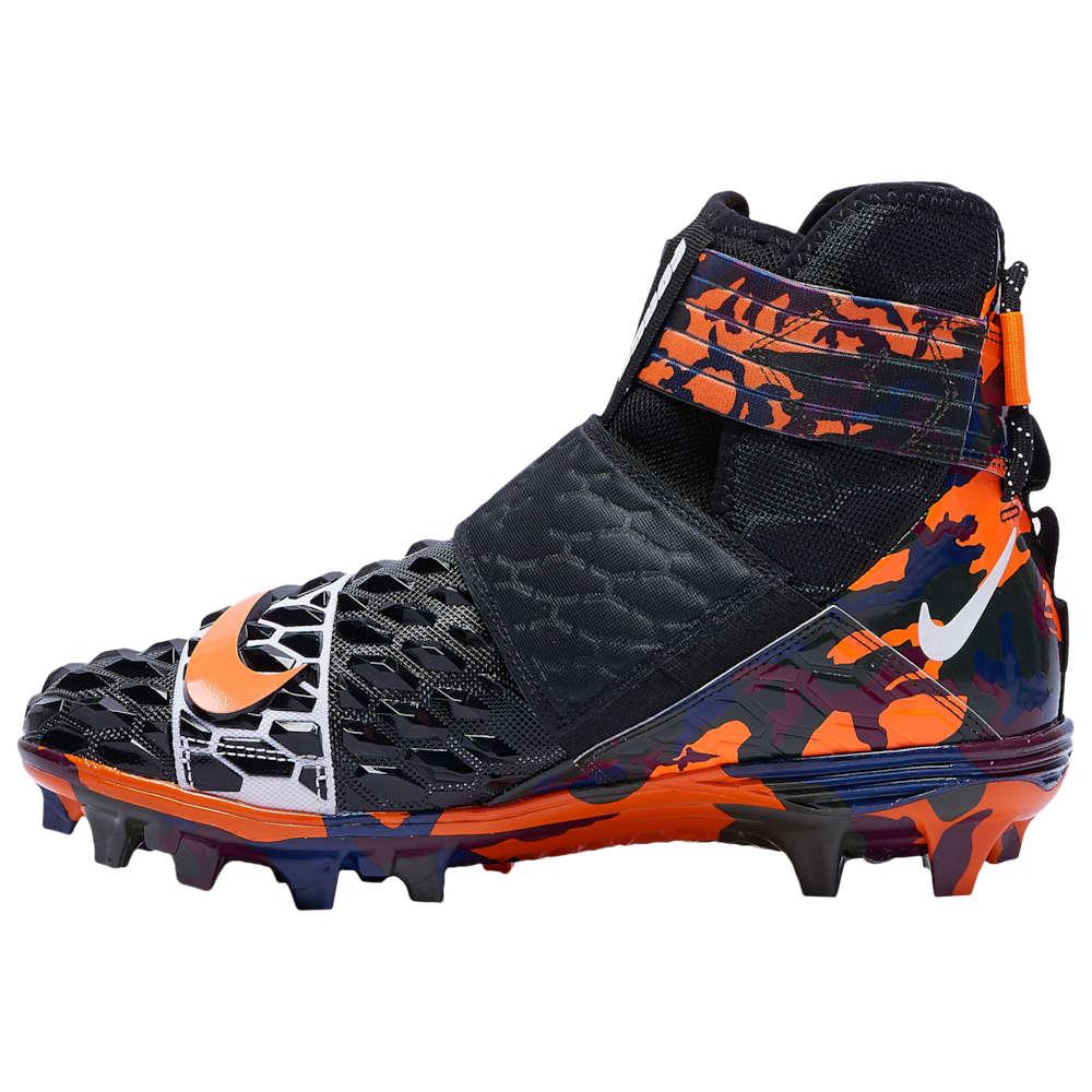 ナイキ Nike メンズ アメリカンフットボール シューズ・靴【Force Savage Elite 2 TD】Black/Total Orange/Total Orange
