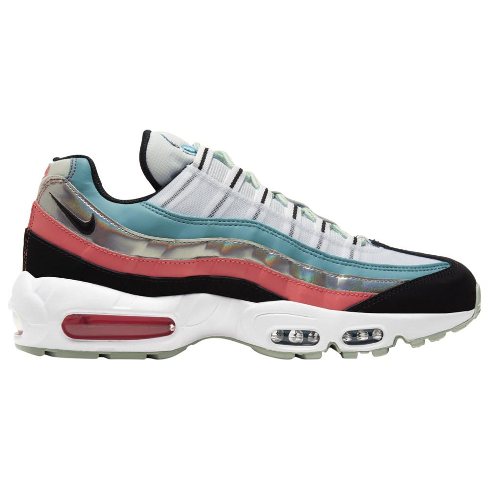 ナイキ Nike メンズ ランニング・ウォーキング シューズ・靴【Air Max 95】White/Black/Cerulean/Magic Ember