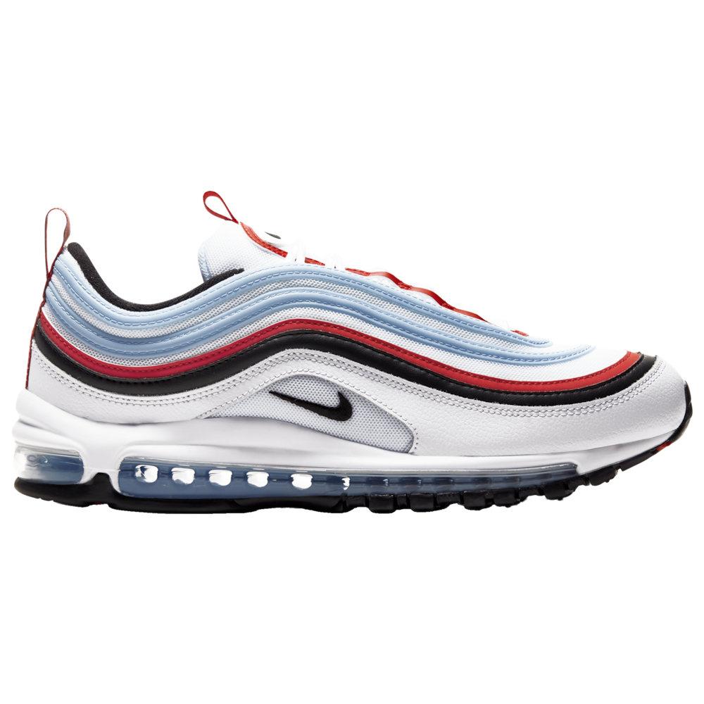 ナイキ Nike メンズ ランニング・ウォーキング シューズ・靴【Air Max '97】White/Black/University Red/Psychic Blue