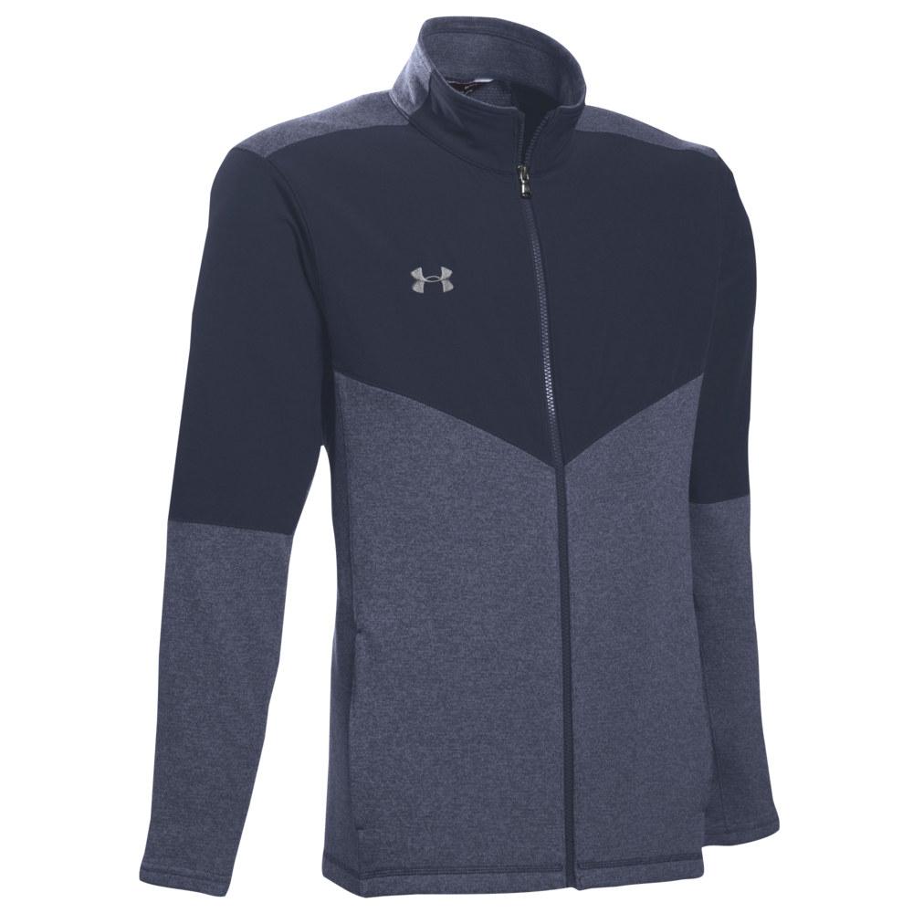 アンダーアーマー Under Armour メンズ フリース トップス【Team Elite Fleece Full-Zip Jacket】Midnight Navy/Steel