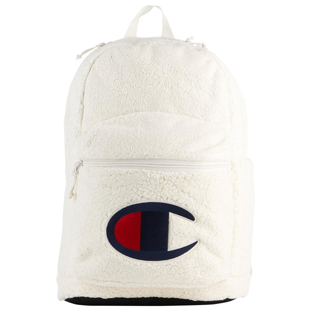 チャンピオン Champion ユニセックス バックパック・リュック バッグ【Supercize Sherpa Backpack】Light Beige