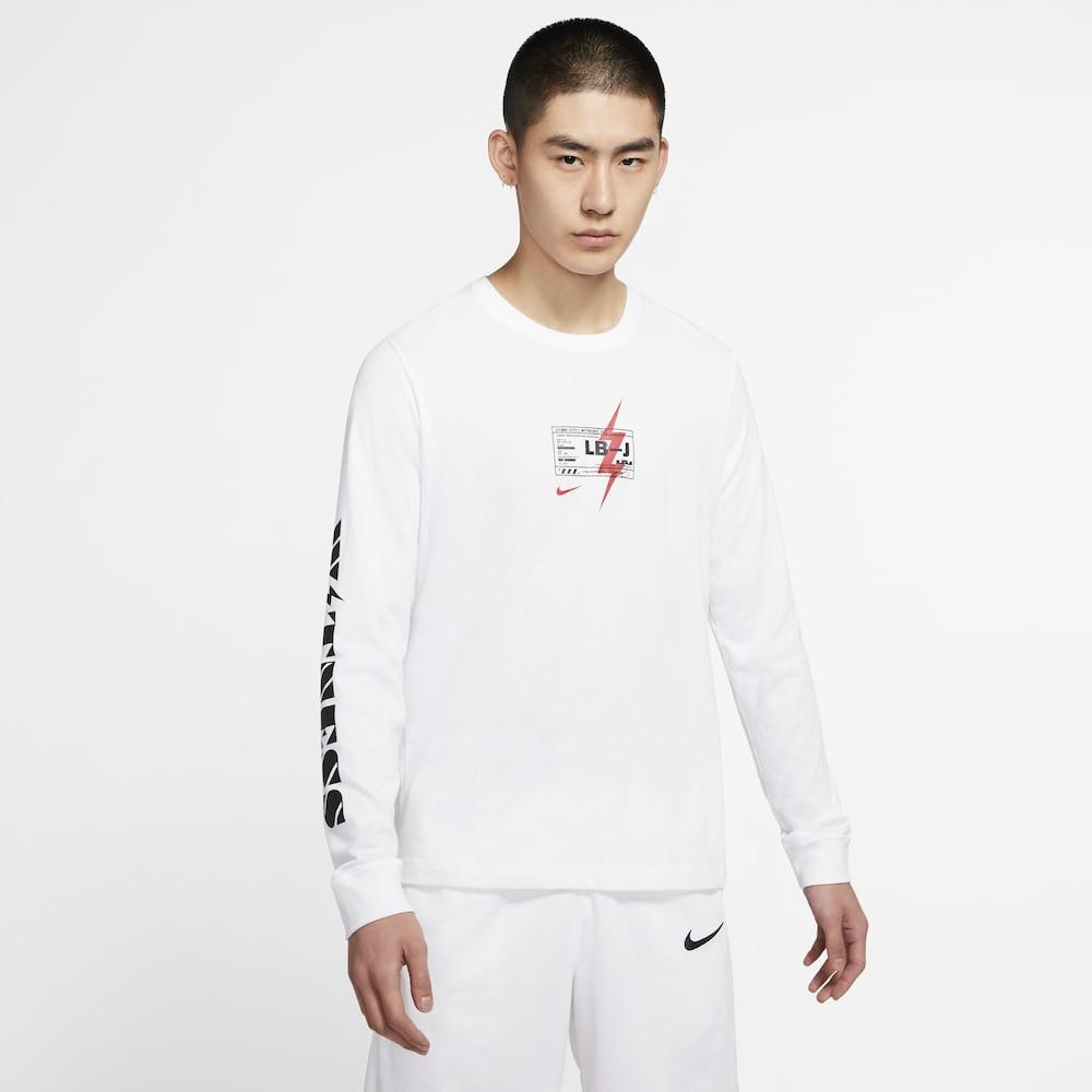 ナイキ Nike メンズ バスケットボール 長袖Tシャツ トップス【LeBron L/S T-Shirt】Lebron James