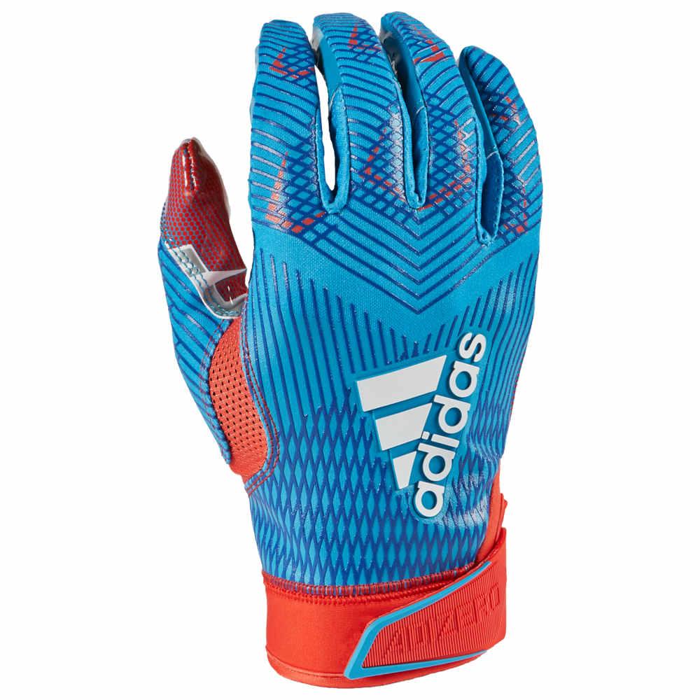 アディダス adidas メンズ アメリカンフットボール レシーバーグローブ グローブ【adiZero 5-Star 8.0 Receiver Glove】Berry Blast