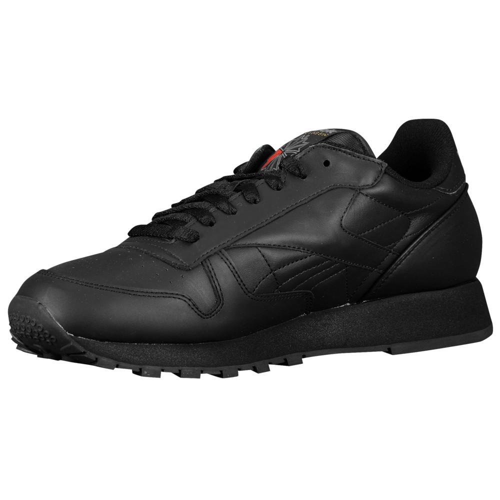リーボック Reebok メンズ ランニング・ウォーキング シューズ・靴【Classic Leather】Black