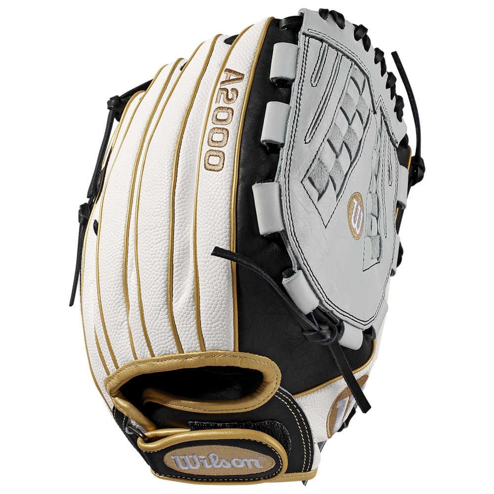 ウィルソン Wilson レディース 野球 グローブ【A2000 V125 Superskin】White/Black/Gold