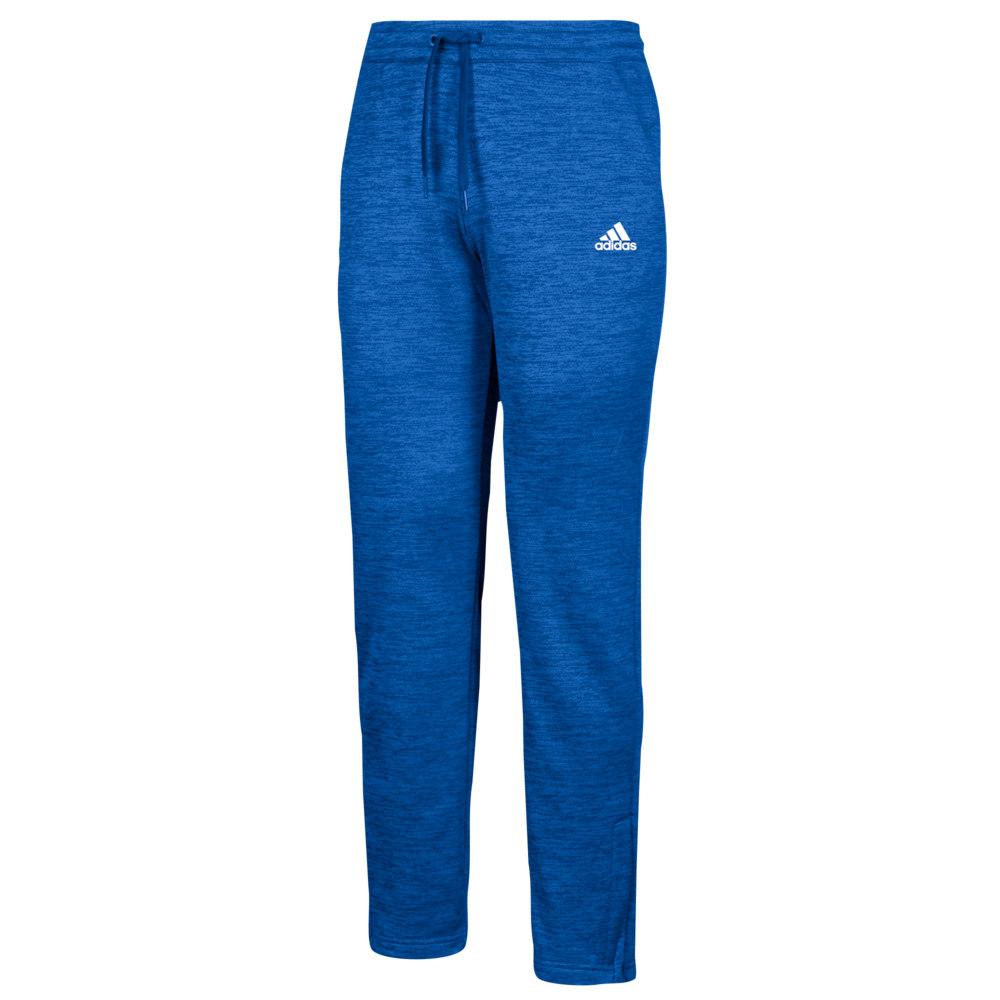 アディダス adidas レディース フィットネス・トレーニング ボトムス・パンツ【Team Issue Fleece Pants】Collegiate Royal/White