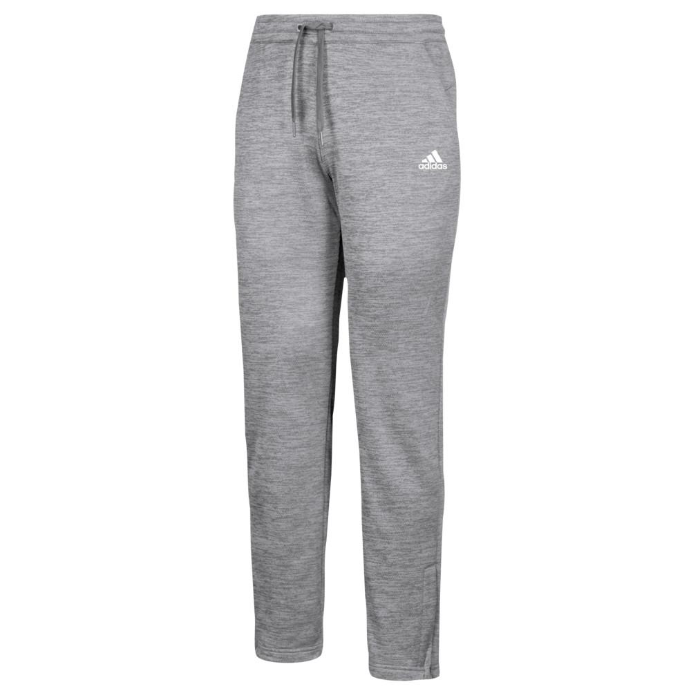 アディダス adidas レディース フィットネス・トレーニング ボトムス・パンツ【Team Issue Fleece Pants】Grey Two/White