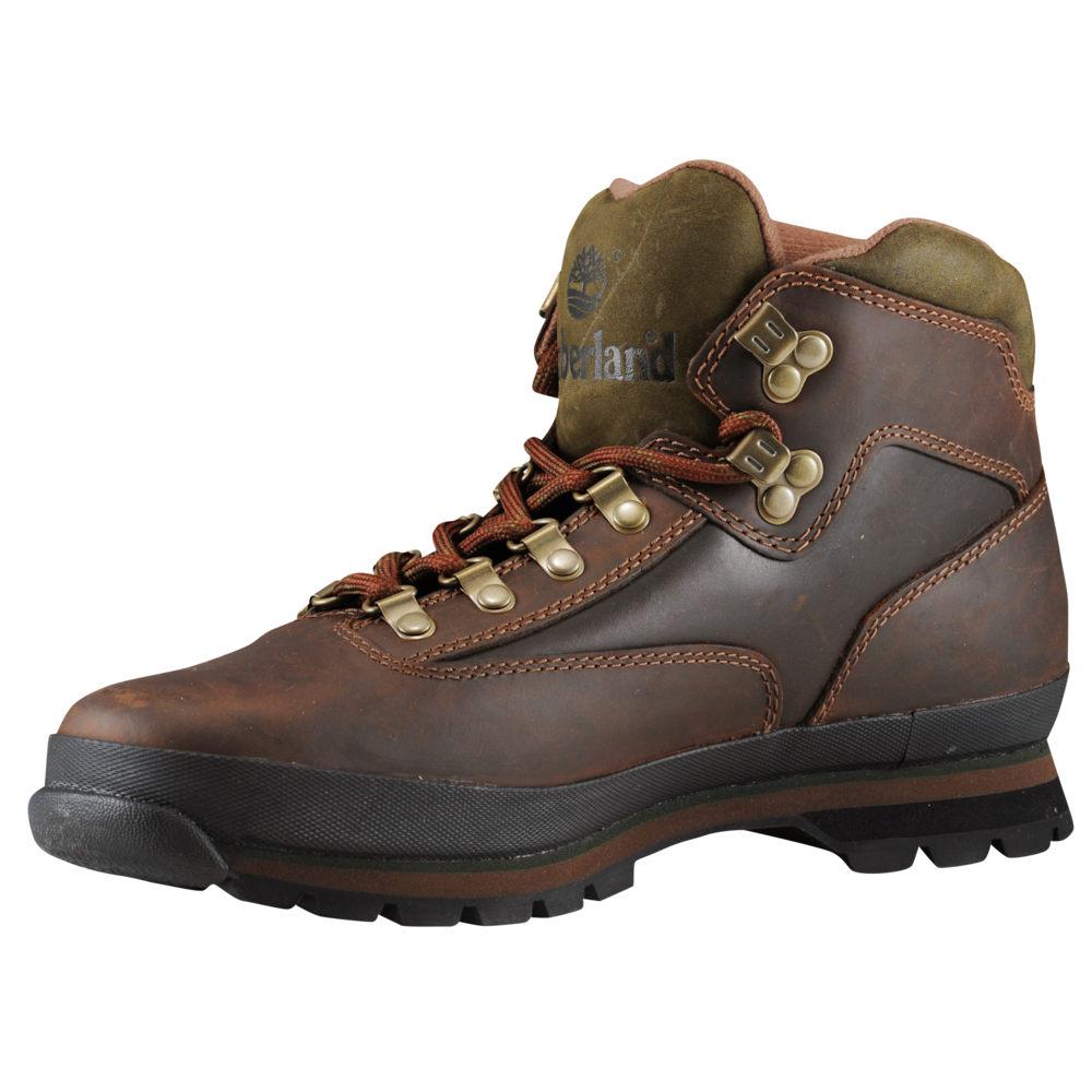 ティンバーランド Timberland メンズ ハイキング・登山 シューズ・靴【Euro Hiker】Oiled Brown Smooth