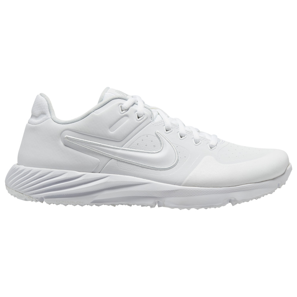 ナイキ Nike レディース 野球 シューズ・靴【Alpha Huarache Elite 2 Turf】White/White