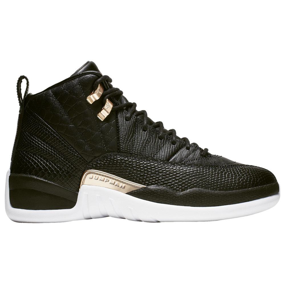 ナイキ ジョーダン Jordan レディース バスケットボール シューズ・靴【Retro 12】Black/Metallic Gold/White