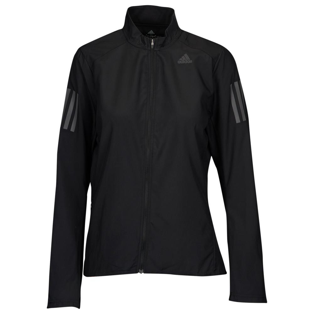 アディダス adidas レディース フィットネス・トレーニング ウィンドブレーカー ジャケット アウター【Own The Run Wind Jacket】Black