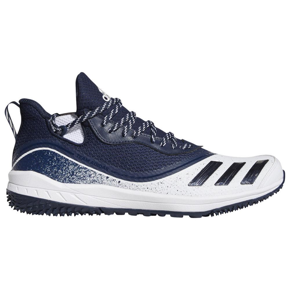アディダス adidas メンズ 野球 シューズ・靴【Icon V Turf】White/Collegiate Navy/White