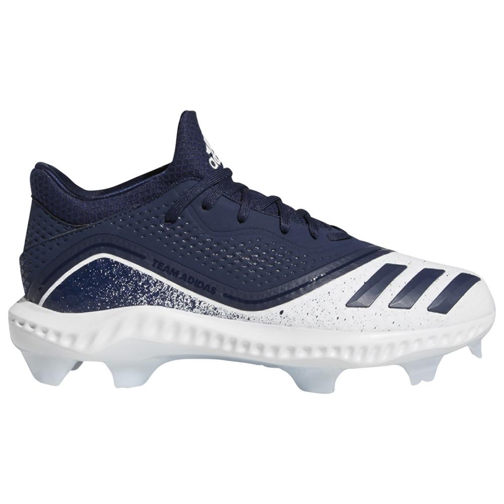 アディダス adidas レディース 野球 シューズ・靴【Icon V Bounce W TPU Low】Collegiate Navy/White/Glow Blue