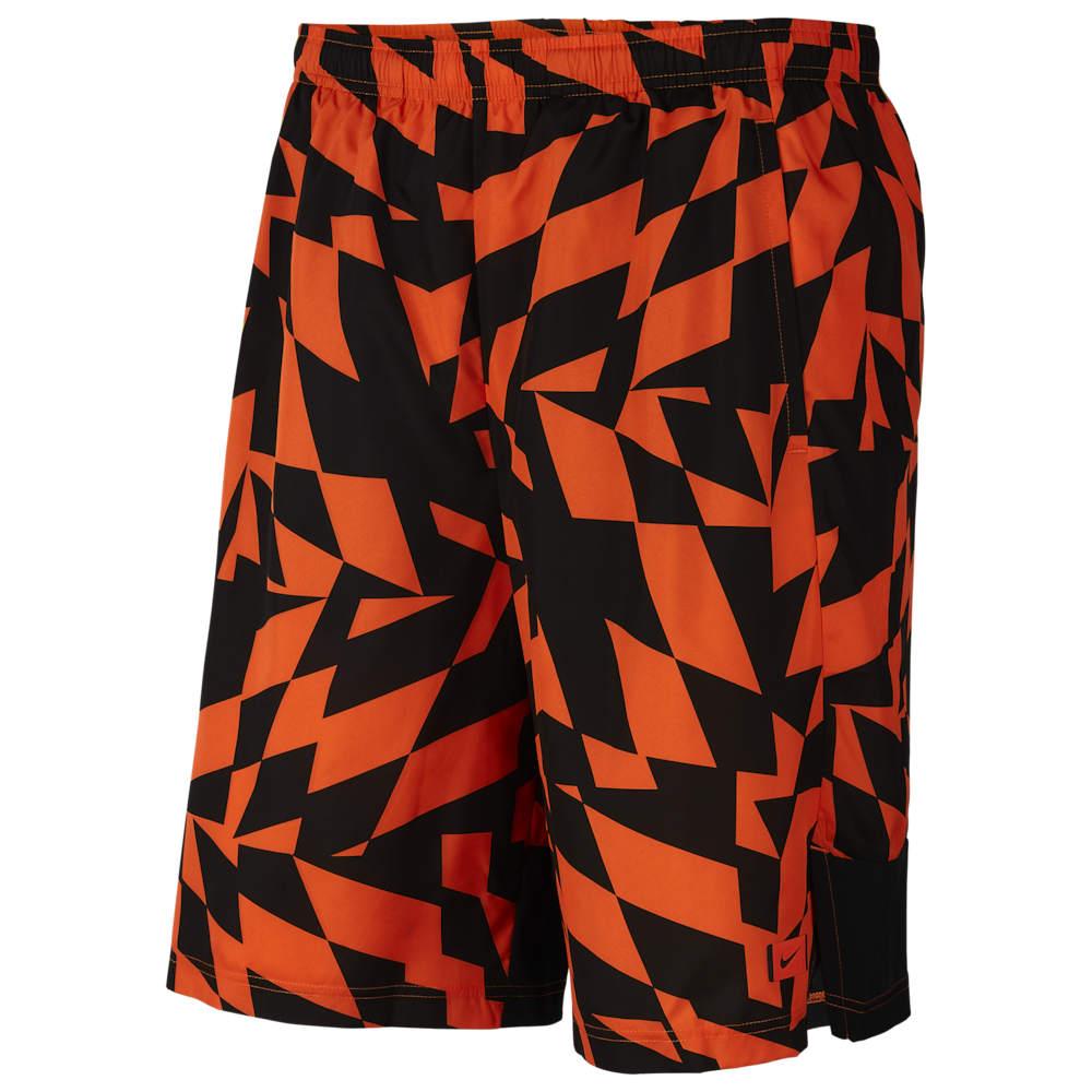 ナイキ Nike メンズ アメリカンフットボール ショートパンツ ボトムス・パンツ【Performance Brotherhood Printed Shorts】Brilliant Orange/Black