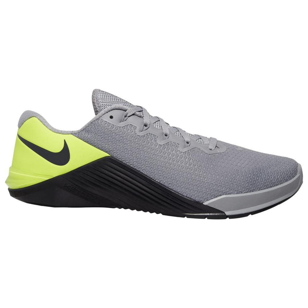 ナイキ Nike メンズ フィットネス・トレーニング シューズ・靴【Metcon 5】Particle Grey/Dark Smoke Grey/Barely Volt