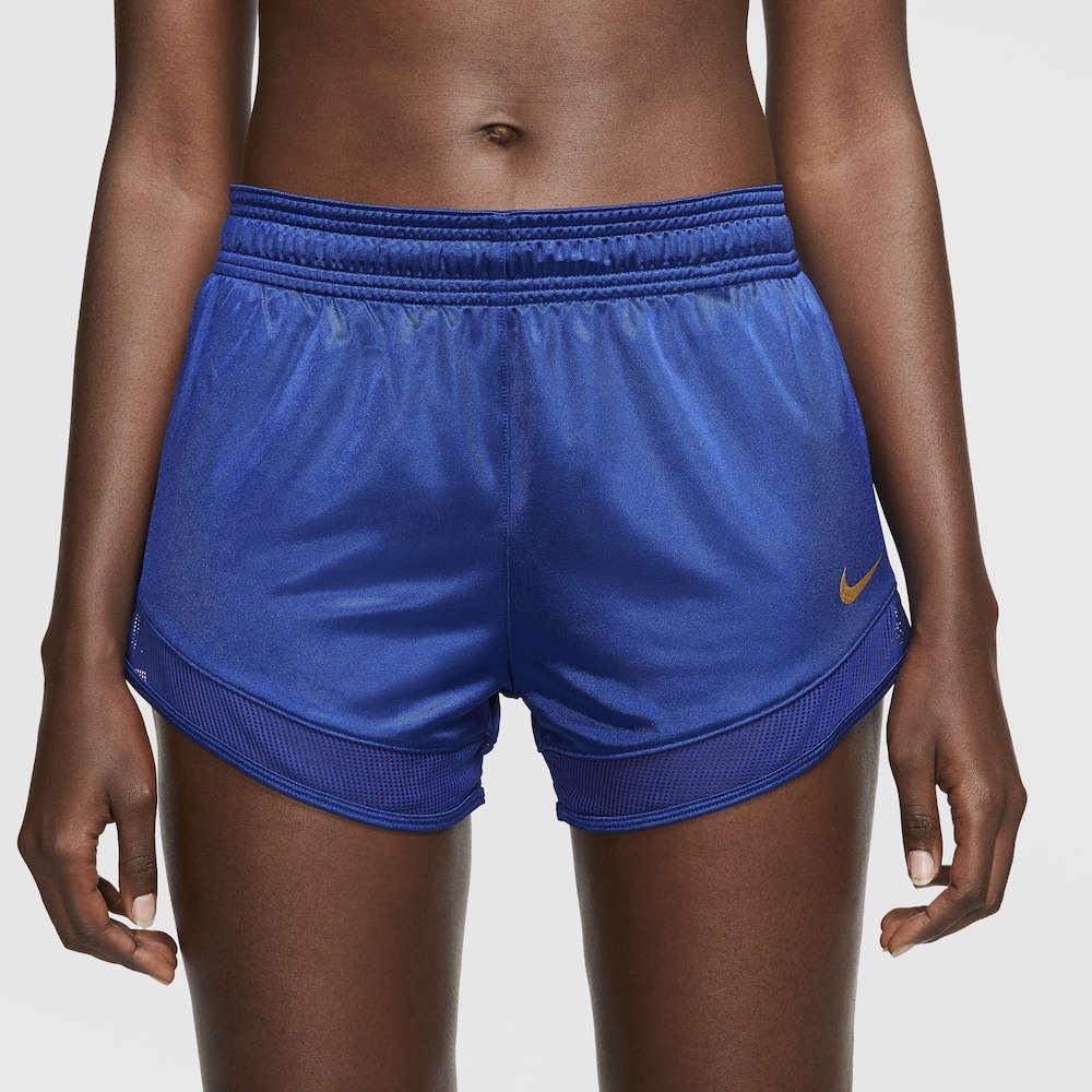 ナイキ Nike レディース フィットネス・トレーニング ショートパンツ ボトムス・パンツ【Glam Shorts】Deep Royal Blue/Deep Royal Blue