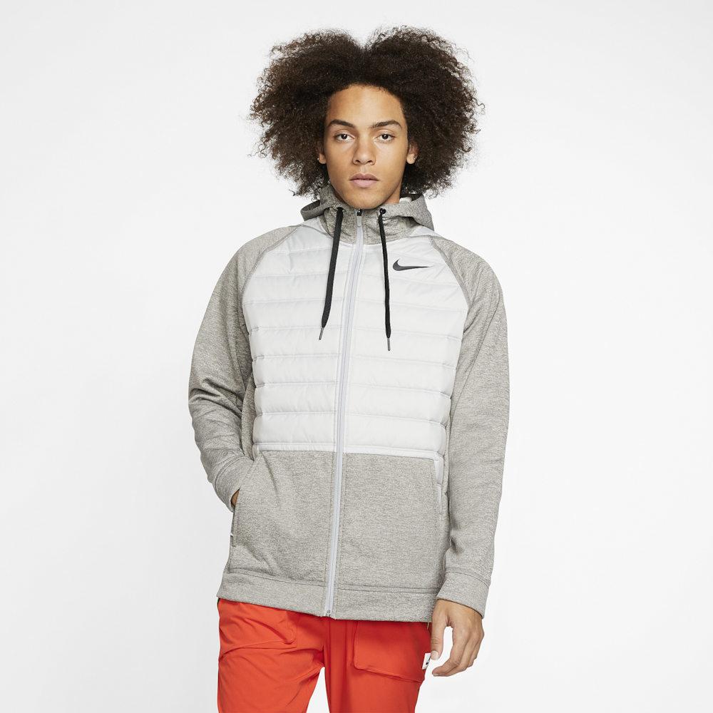 ナイキ Nike メンズ フィットネス・トレーニング ジャケット アウター【Therma F/Z Winterized Jacket】Dark Grey Heather/Lt Smoke Grey