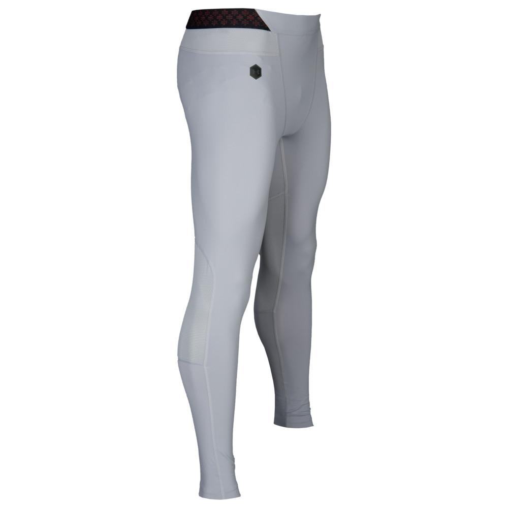 アンダーアーマー Under Armour メンズ フィットネス・トレーニング タイツ・スパッツ ボトムス・パンツ【ColdGear Rush Leggings】Mod Grey/Black