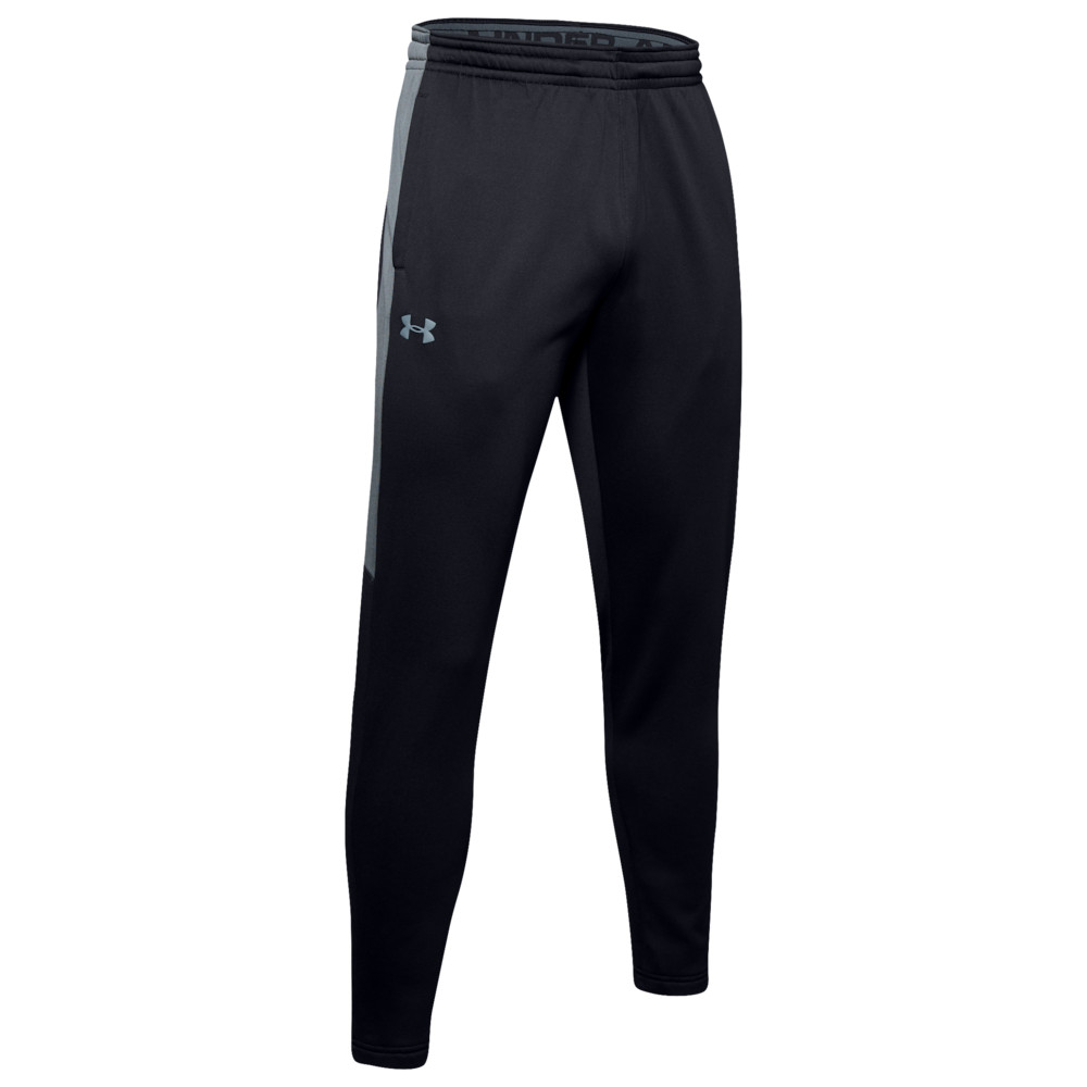 アンダーアーマー Under Armour メンズ ボトムス・パンツ 【Armour Fleece Graphic Pants】Black/Black