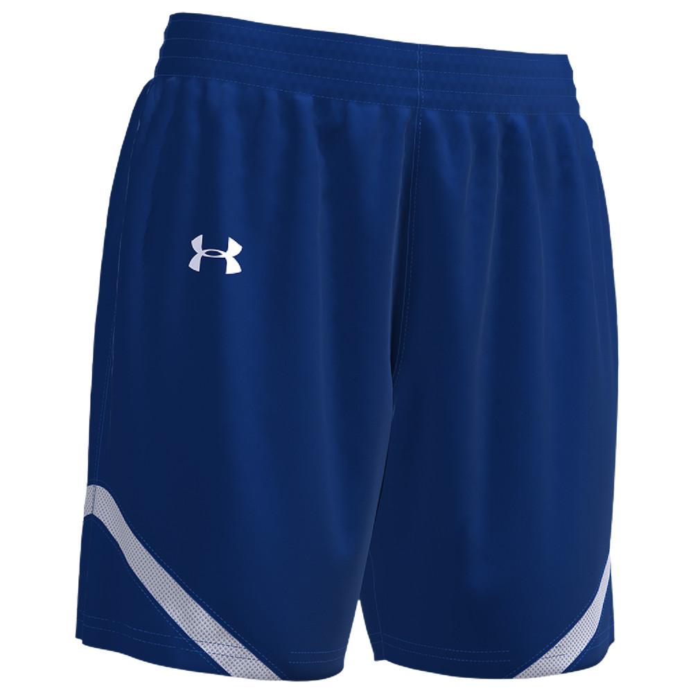 アンダーアーマー Under Armour Team レディース バスケットボール ショートパンツ ボトムス・パンツ【Team Clutch 2 Reversible Shorts】Royal/White