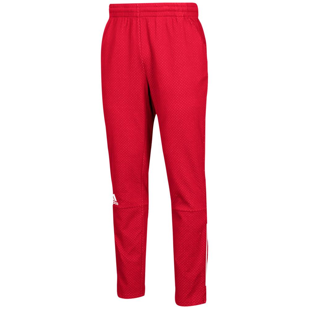 アディダス adidas メンズ フィットネス・トレーニング ボトムス・パンツ【Team Squad Pants】Power Red/White