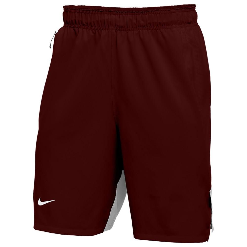 ナイキ Nike メンズ フィットネス・トレーニング ショートパンツ ボトムス・パンツ【Team Authentic Flex Practice Shorts】Deep Maroon/Silver/White