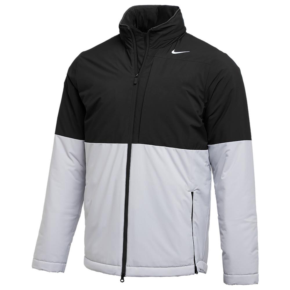 ナイキ Nike メンズ フィットネス・トレーニング ジャケット アウター【Team Authentic Shield Heavyweight Jacket】Black/Flat Silver/White