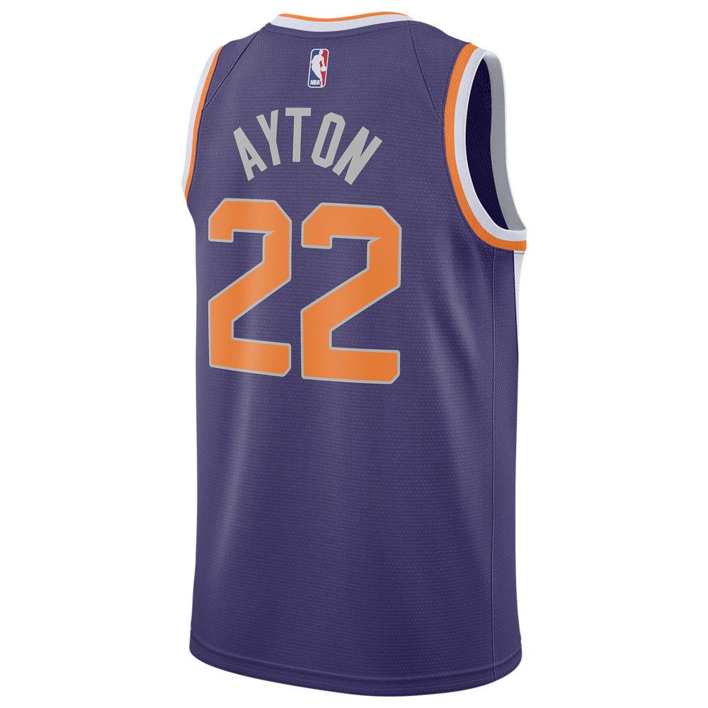 ナイキ Nike メンズ バスケットボール トップス【NBA Swingman Jersey】NBA/Phoenix Suns/Deandre Ayton/New Orchid/White