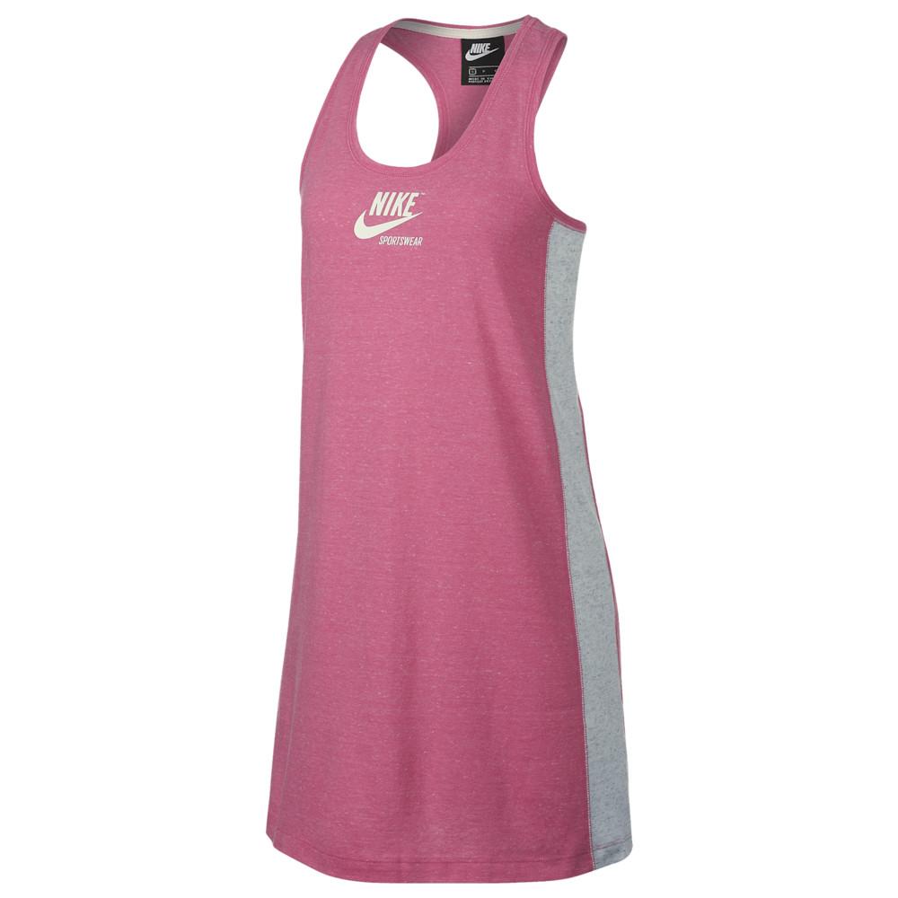 ナイキ Nike レディース ワンピース ワンピース・ドレス【Gym Vintage Dress】Lotus Pink/Birch Heather/Sail