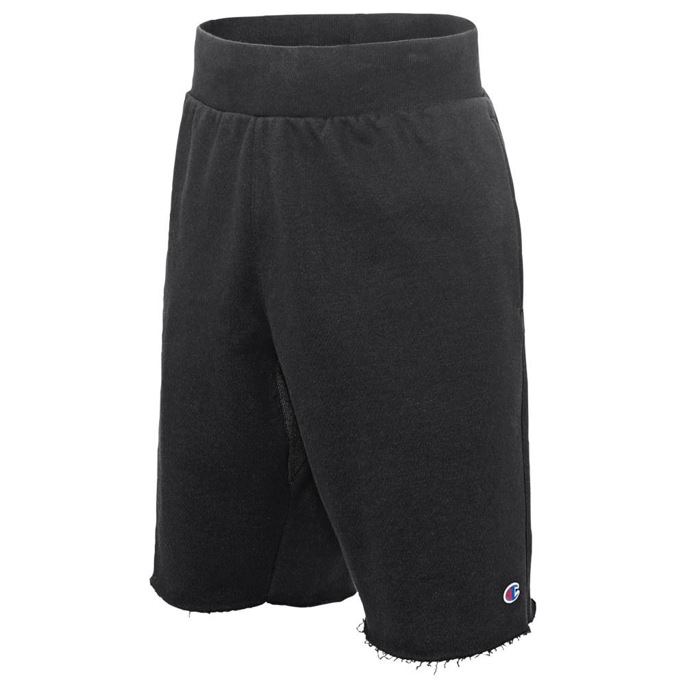 チャンピオン Champion メンズ ショートパンツ ボトムス・パンツ【Reverse Weave Cut Off Shorts】Black