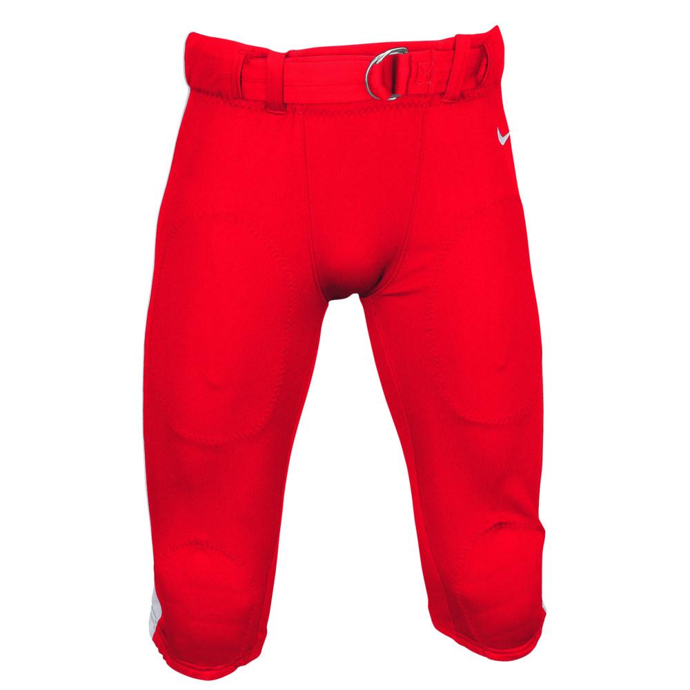 ナイキ Nike メンズ アメリカンフットボール ボトムス・パンツ【Team Stock Mach Speed Pants】Scarlet/White/White