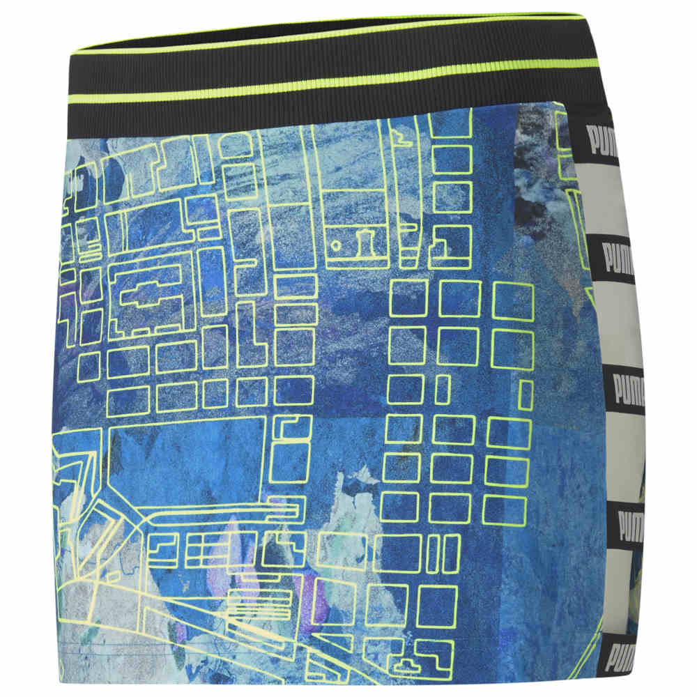 プーマ PUMA レディース スカート 【CSM All Over Print Skirt】Blue/Green