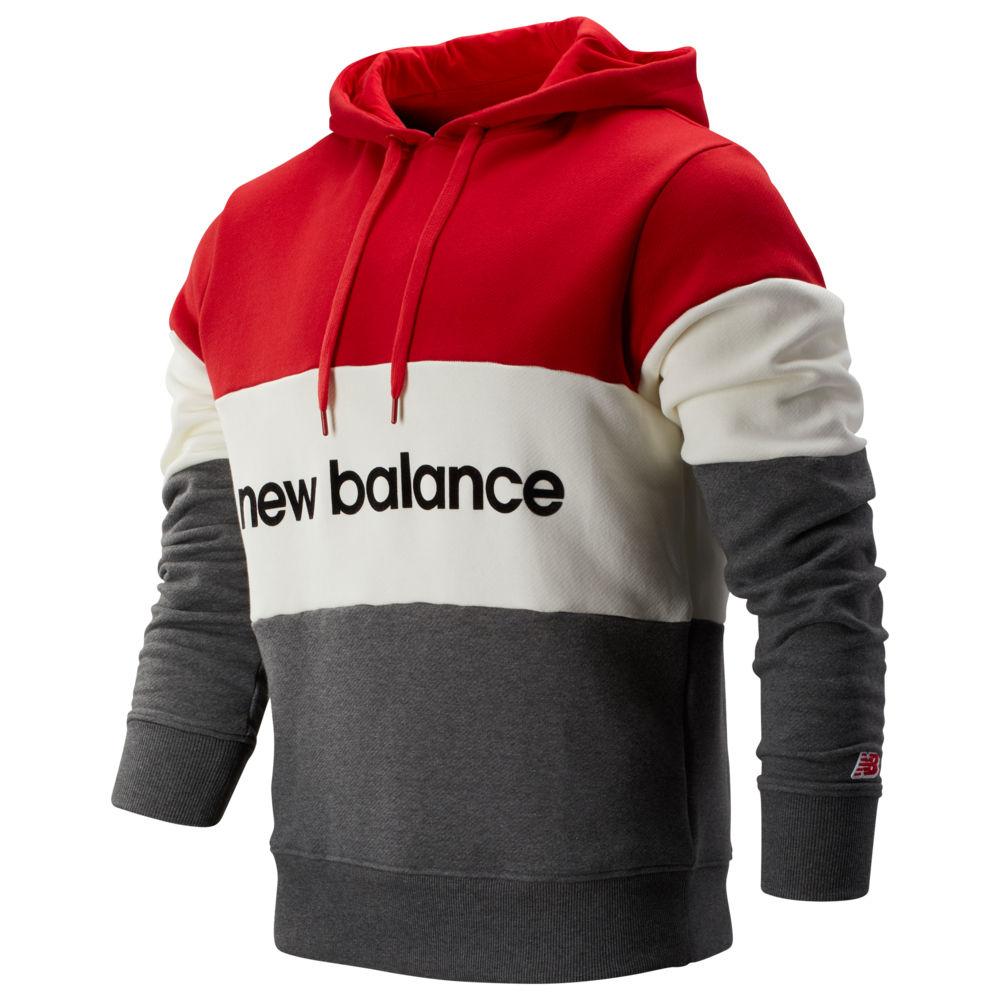 ニューバランス New Balance メンズ パーカー トップス【Stadium Hoodie】Team Red/Sea Salt