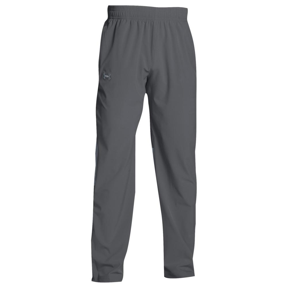 アンダーアーマー Under Armour メンズ フィットネス・トレーニング ボトムス・パンツ【Team Squad Woven Warm Up Pants】Graphite/Steel
