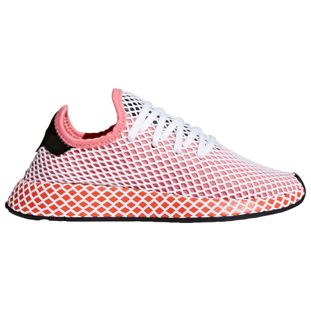 アディダス adidas Originals レディース ランニング・ウォーキング シューズ・靴【Deerupt Runner】Chalk Pink/Chalk Pink/Bold Orange