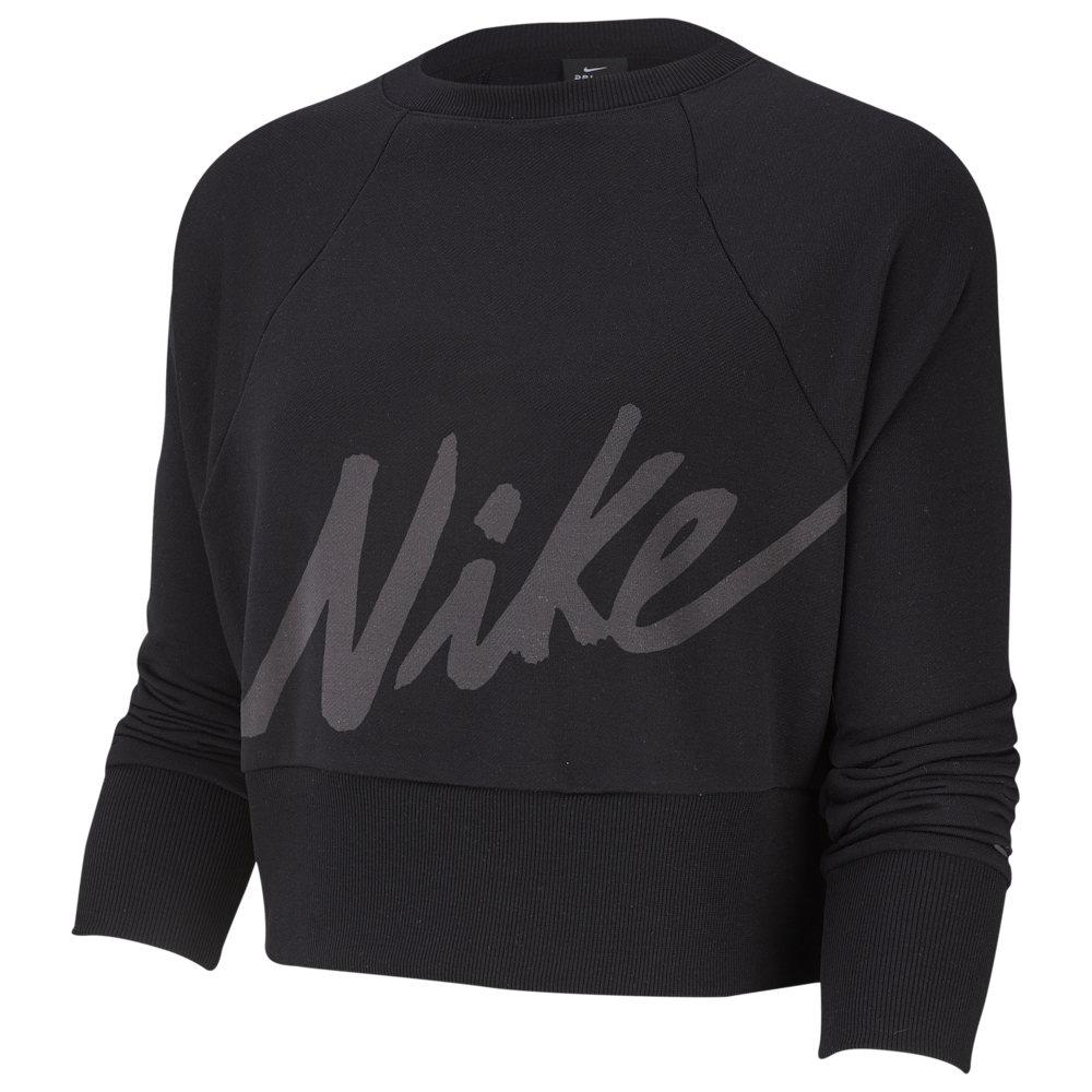 ナイキ Nike レディース フィットネス・トレーニング トップス【Get Fit Lux Crew】Black