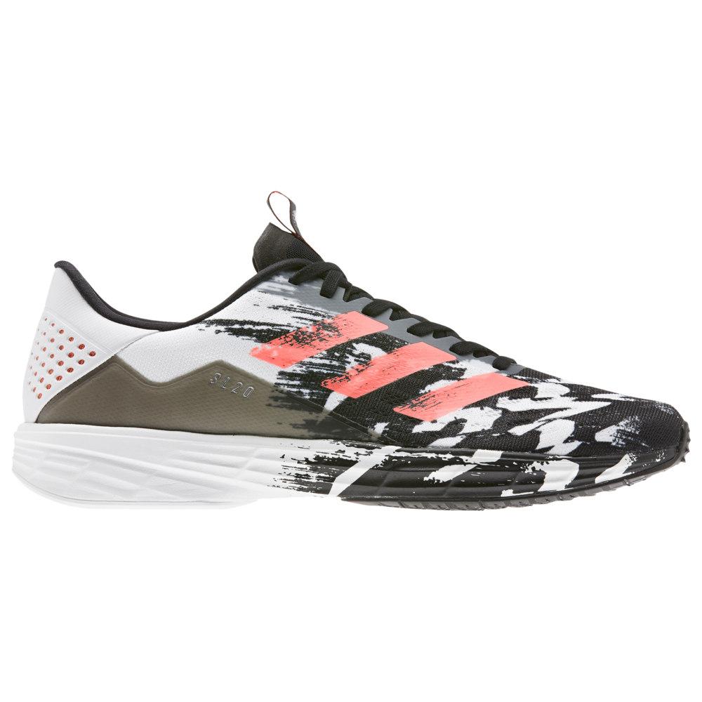 アディダス adidas メンズ ランニング・ウォーキング シューズ・靴【SL20】Black/Signal Coral/White