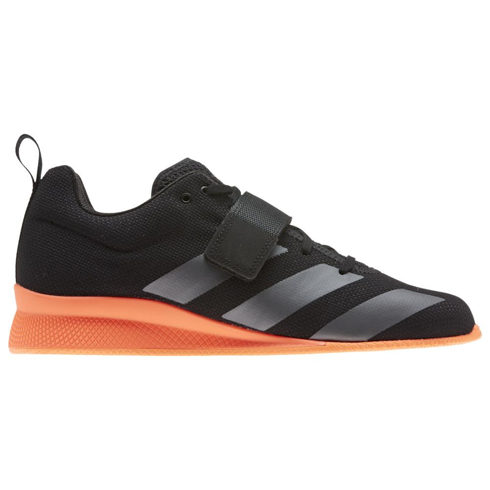 アディダス adidas メンズ フィットネス・トレーニング シューズ・靴【Adipower Weightlifter II】Core Black/Night Metallic/Signature Coral