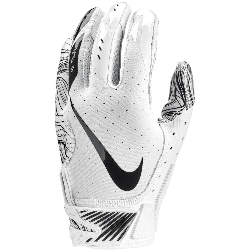 ナイキ Nike メンズ アメリカンフットボール グローブ【Vapor Jet 5.0 Football Gloves】White/White/Black