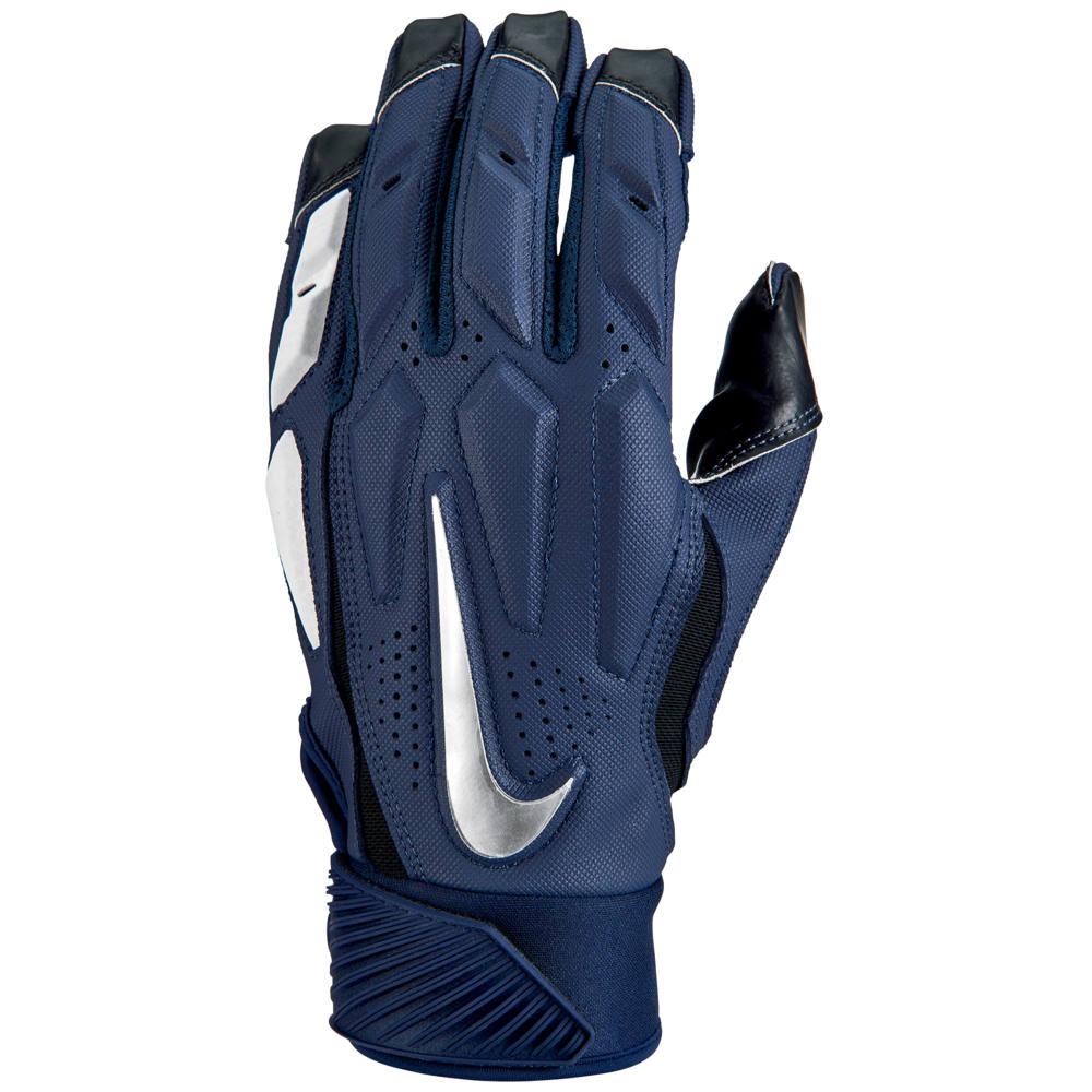ナイキ Nike メンズ アメリカンフットボール ラインマングローブ グローブ【D-Tack 6 Lineman Gloves】College Navy/White/Chrome
