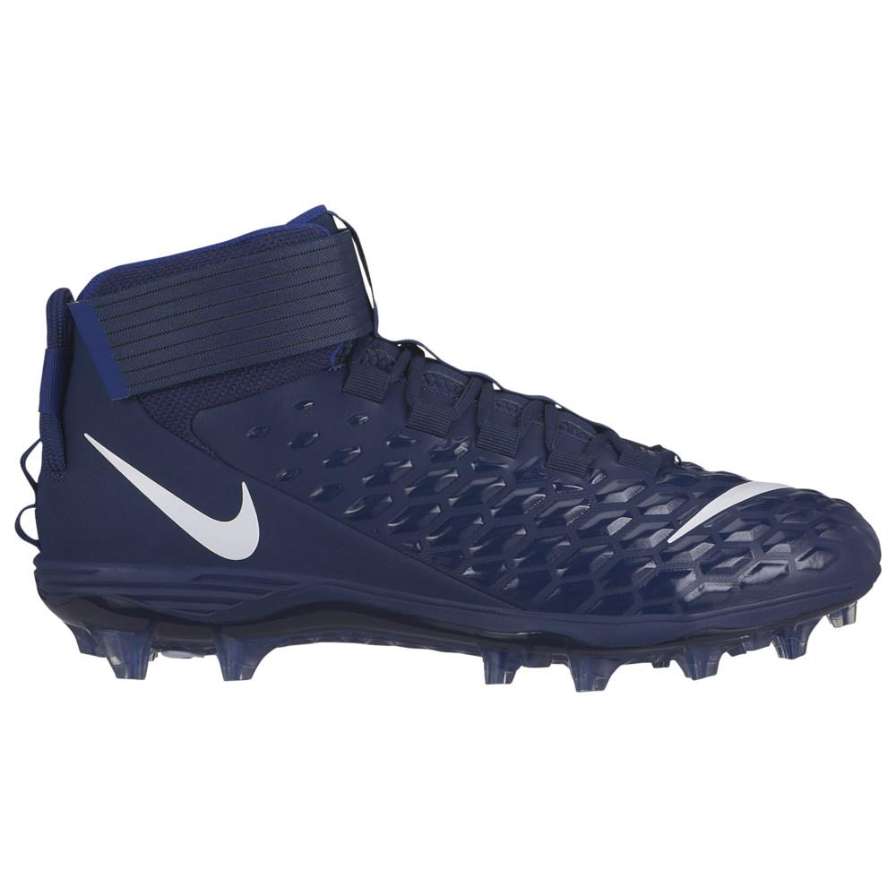 ナイキ Nike メンズ アメリカンフットボール シューズ・靴【Force Savage Pro 2】Midnight Navy/White/Deep Royal Blue