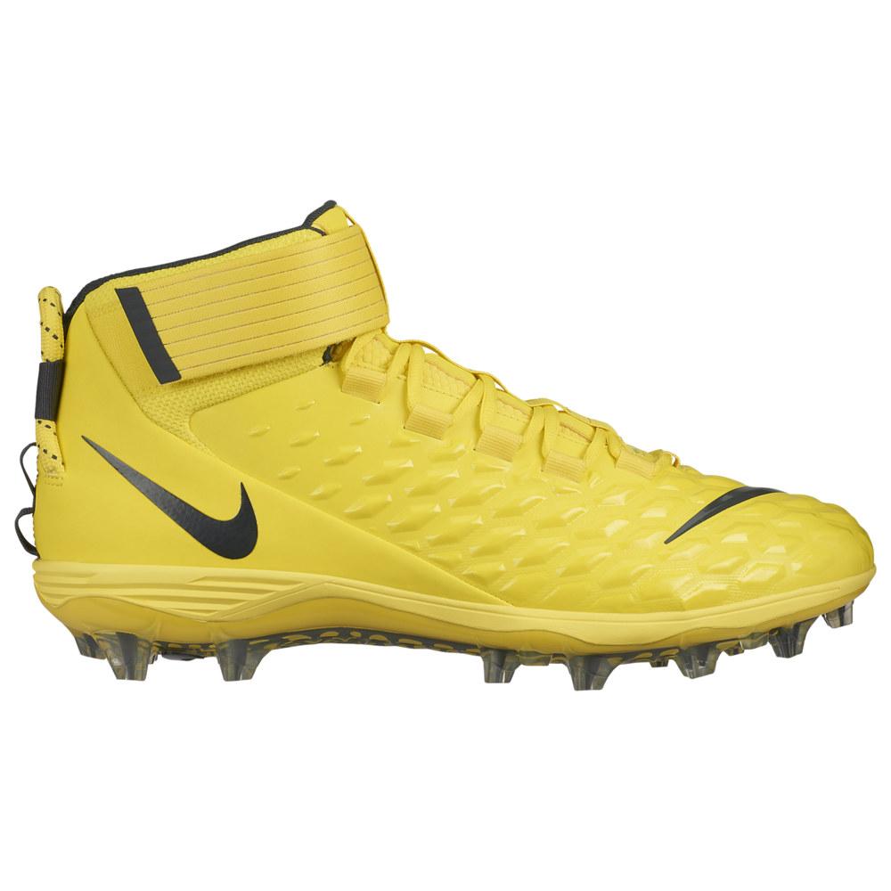 ナイキ Nike メンズ アメリカンフットボール シューズ・靴【Force Savage Pro 2】Opti Yellow/Anthracite