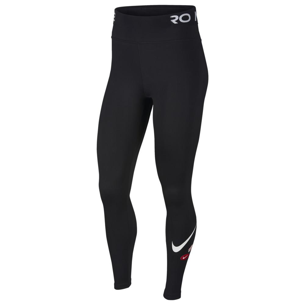 ナイキ Nike レディース フィットネス・トレーニング スパッツ・レギンス ボトムス・パンツ【JDIY One Tights】Black/Black/White