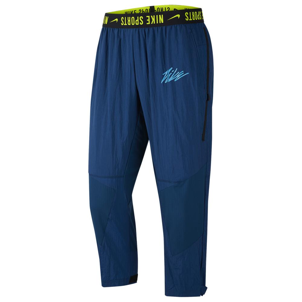 ナイキ Nike メンズ フィットネス・トレーニング ボトムス・パンツ【Training Pants】Valerian Blue/Lemon Venom/Laser Blue