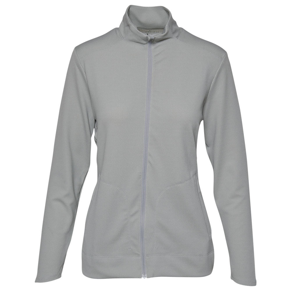 ナイキ Nike レディース ゴルフ ジャケット アウター【Dri-FIT UV Full-Zip Golf Jacket】Wolf Grey/White/Wolf Grey